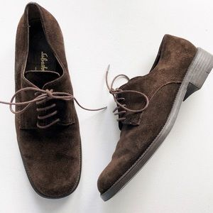 ⭐️ Salvatore Ferragamo ⭐️ Suede Oxford Shoes